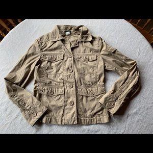 J Crew Women's Jacket Khaki Size Small